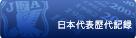 日本代表試合別出場記録