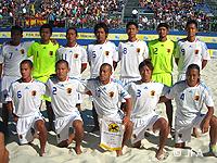 【FIFAビーチサッカーワールドカップ マルセイユ2008】ビーチサッカー日本代表、スペインに敗れてグループステージ敗退