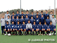 U-17日本代表候補トレーニングキャンプ(7/17〜20)端戸 仁選手離脱