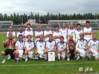【第7回全国シニア(50歳以上)サッカー大会】関西地域代表の兵庫県シニア選抜(50)が優勝!