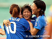 【AFC女子アジアカップ ベトナム2008】なでしこジャパン、オーストラリアに再び快勝し、3位で大会を締めくくる