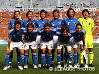 【キリンチャレンジカップ2008 〜 ALL FOR 2010! 〜】なでしこジャパンスターティングメンバー発表